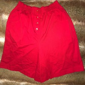 ACT 3 red shorts